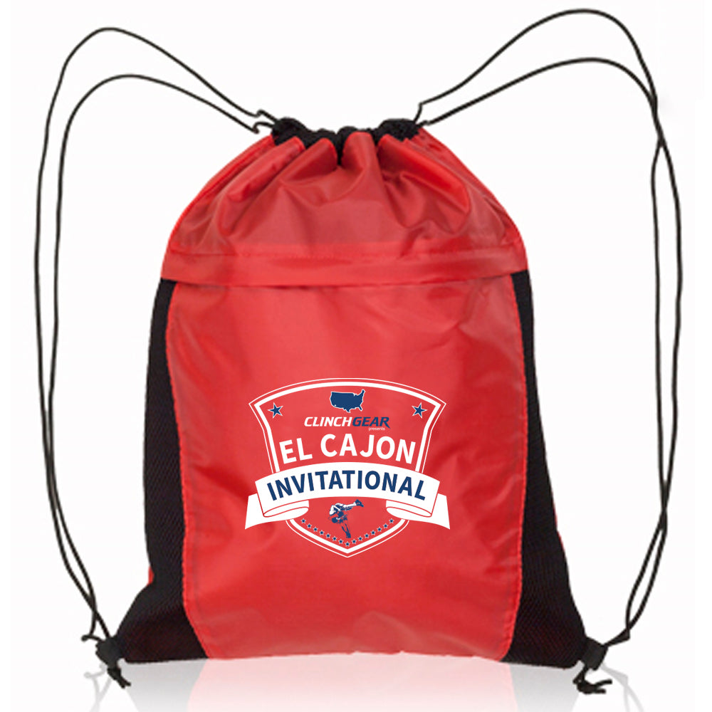 2019 ECI Cinch Bag - Red