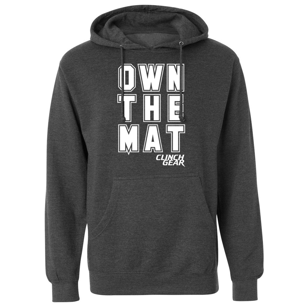 Own The Mat Hoodie - Charcoal Heather