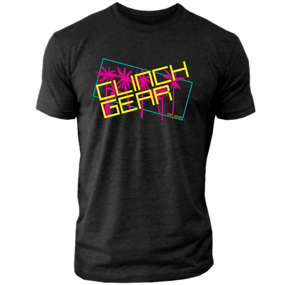 Clinch Gear - Retro – Crew Tee – Black