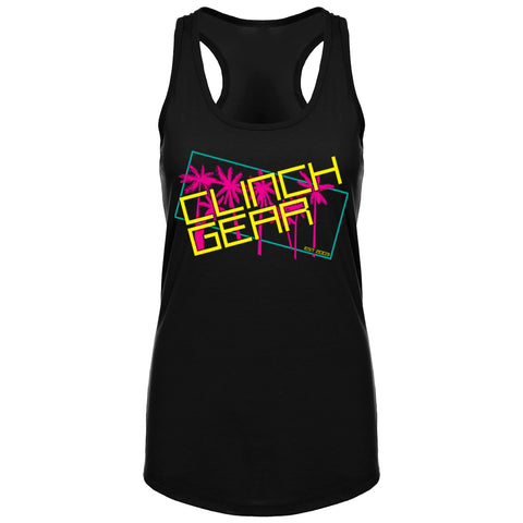 Clinch Gear - Retro - Racerback Tank - Black