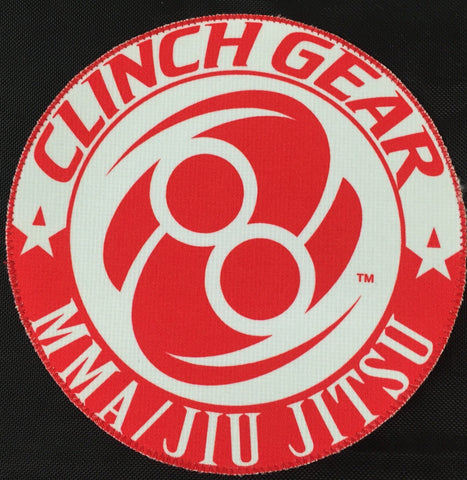Gi Patch - Round - RED - Clinch Gear