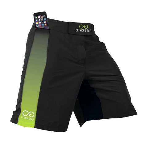 Crossover 3 Short – Fade – Black/Lime Green