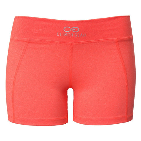 Cross Training Performance Micro Booty Short - Coral