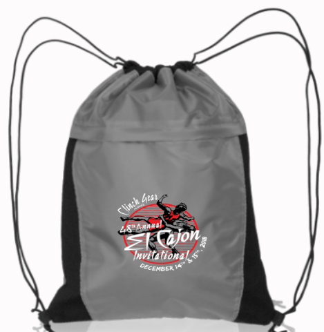 ECI 2018 Cinch Bag - Gray - Clinch Gear