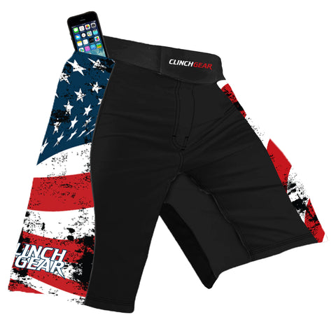 Flex Short – America – Black