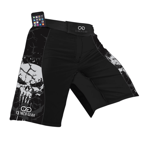 Flex Short – Darkside – Black/Gray - Clinch Gear