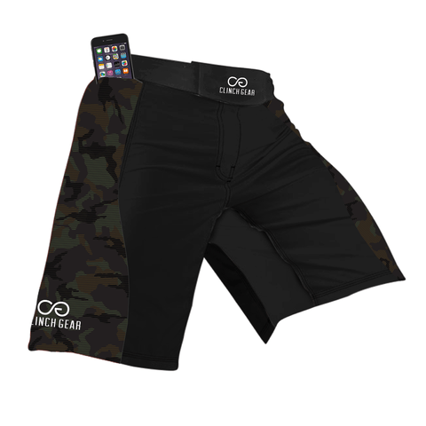 Flex Short – Trooper – Black/Camo