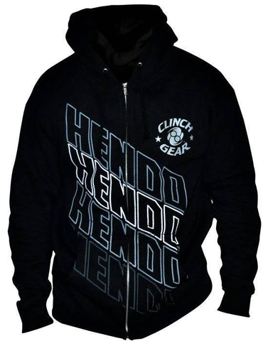 Hendo St. Louis Walkout Zip Hoody - Black - Clinch Gear