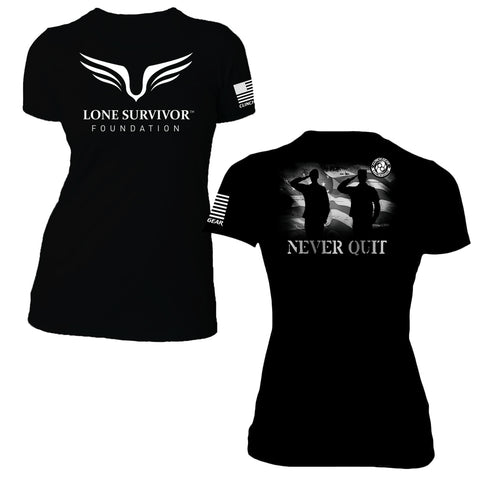 Women's Lone Survivor 2016 Tee – Black - Clinch Gear
