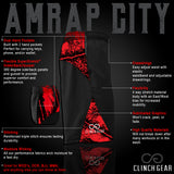 AMRAP City Short - Black/Red