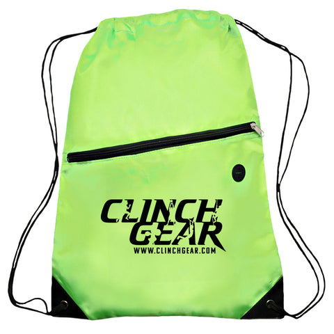 Cinch Gear Bag - Lime Green - Clinch Gear