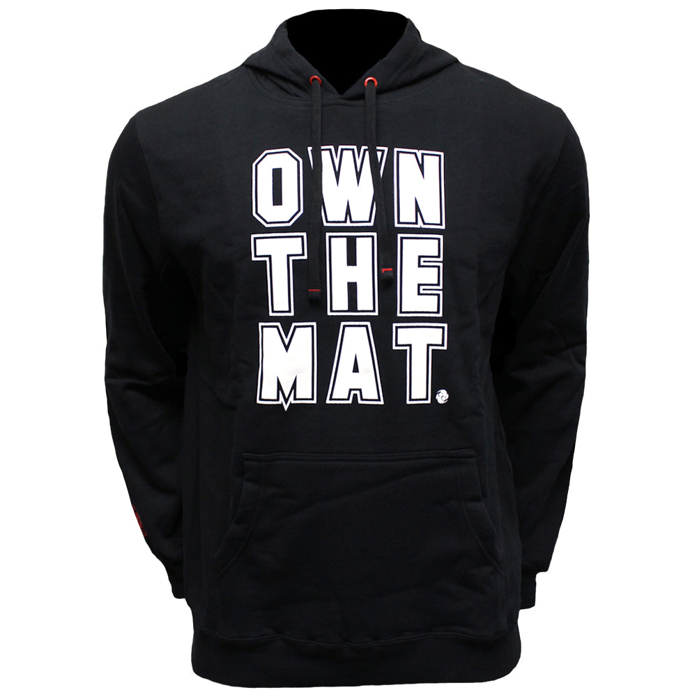 f9567163000d Own the Mat - Pullover Hoodie - Black – Clinch Gear