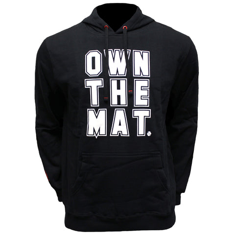 Own the Mat - Pullover Hoodie - Black - Clinch Gear