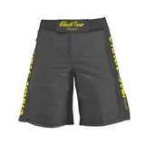 Pro Series Short – Limited Edition – Pewter – Yellow - Clinch Gear