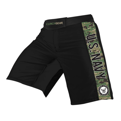 Pro Series Short - US NAVY - Black/Camo - Clinch Gear