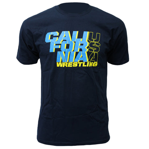 Stacks Wrestling - Crew Tee - Navy - Clinch Gear