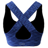 Multi-Sport Racerback Sports Bra - Blue Royal - Clinch Gear