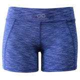 Cross Training Performance Micro Booty Short - Blue Royal - Clinch Gear