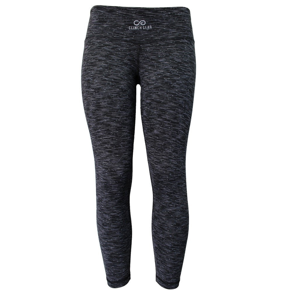Cross Training Performance Capri - Black - Gray/White - Clinch Gear