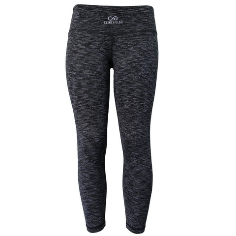 Cross Training Performance Capri - Black - Gray/White