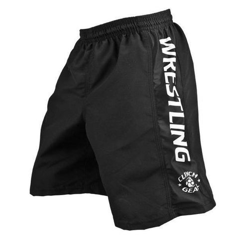 Youth Wrestling Short - Black - Clinch Gear