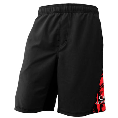 AMRAP City Short - Black/Red - Clinch Gear