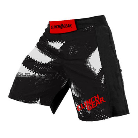 Performance Short - Wolverine - Black - Red/White - Clinch Gear