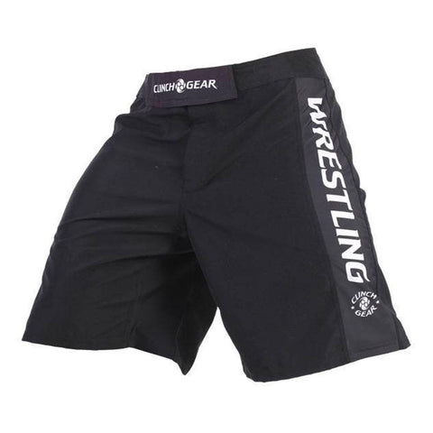 Performance Wrestling Short- Black - Clinch Gear