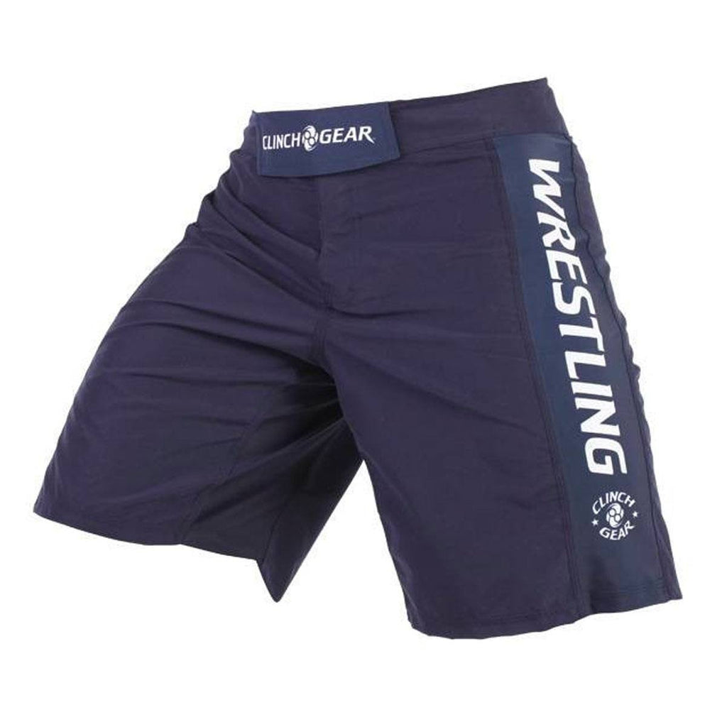 Performance Wrestling Short- Navy - Clinch Gear