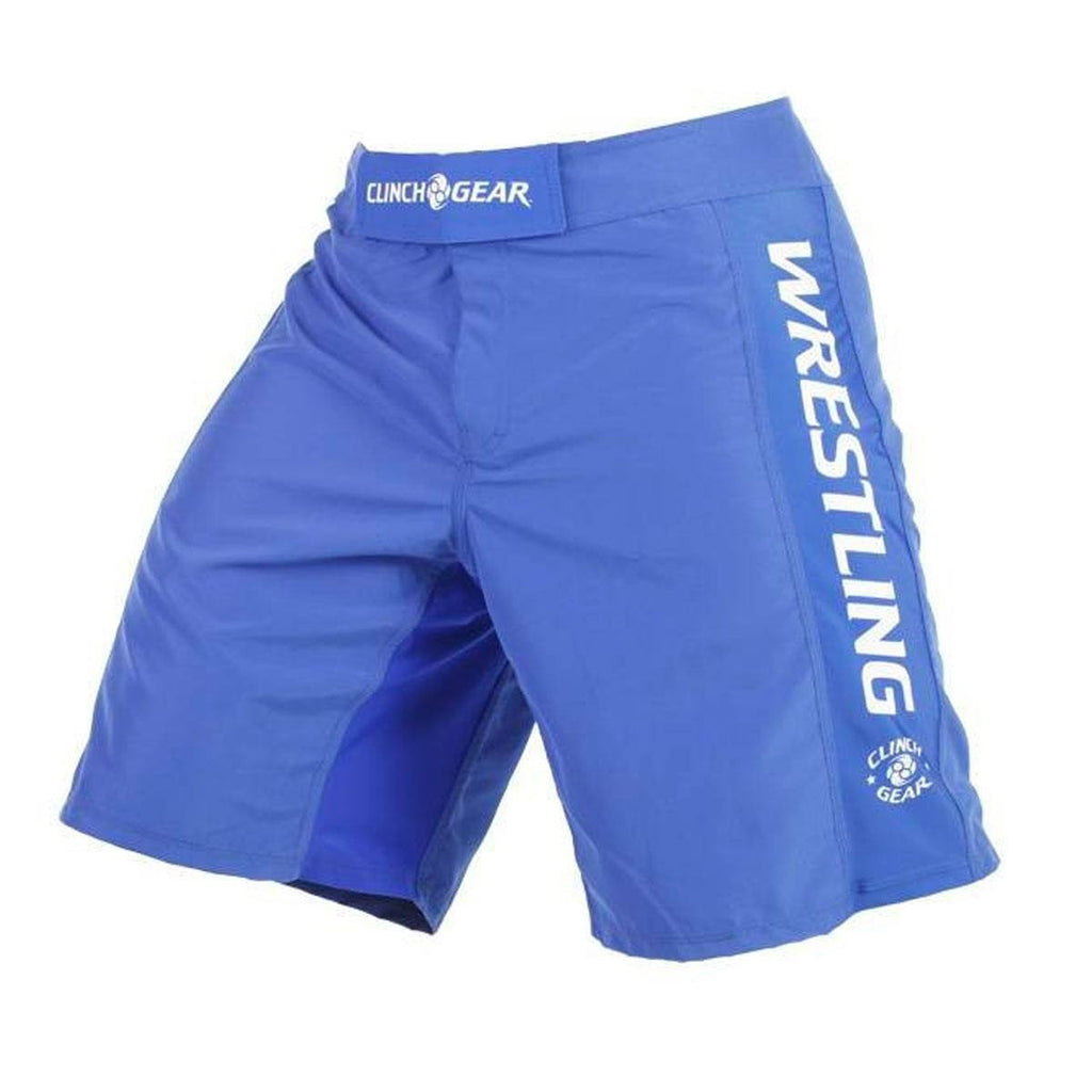 Performance Wrestling Short- Royal - Clinch Gear