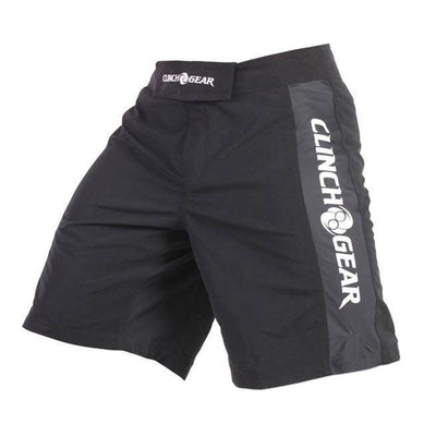 Pro Series Short- Black/Black/White - Clinch Gear