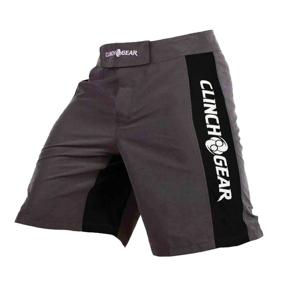 Pro Series Short- Pewter/Black/White - Clinch Gear