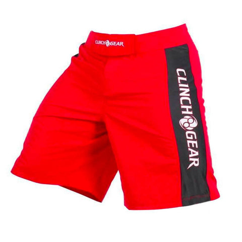 Pro Series Short- Red/Black/White - Clinch Gear