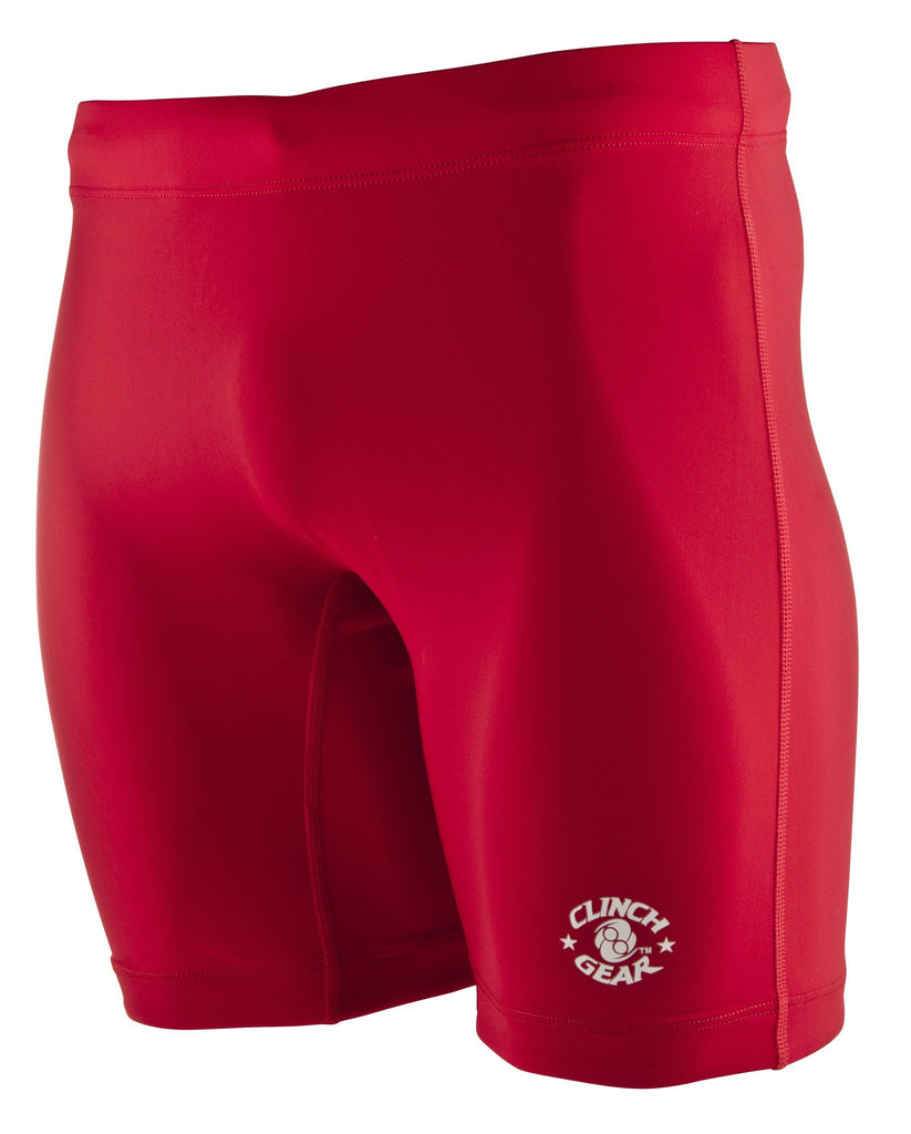 Training Compression Short- Red - Clinch Gear