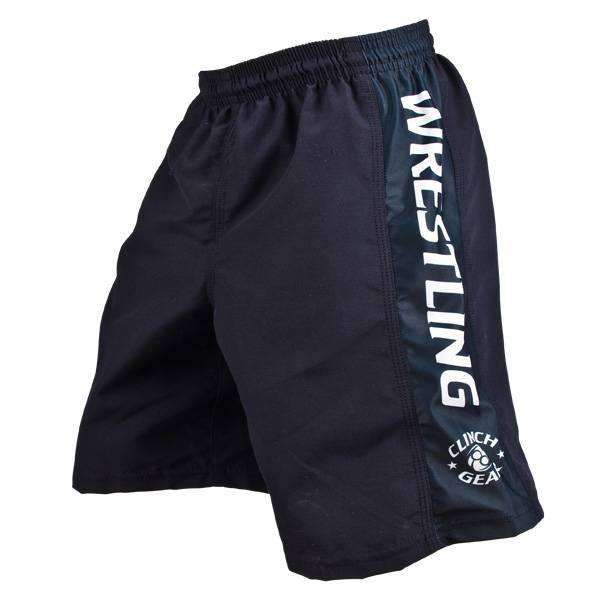 Youth Wrestling Short- Navy - Clinch Gear