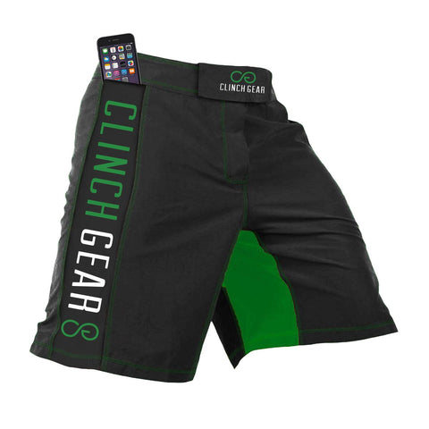 Crossover 3 Short - Flash - Pewter/Green - Clinch Gear