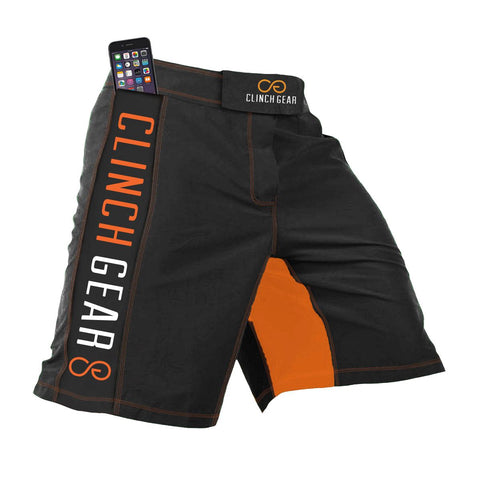 Crossover 3 Short - Flash - Pewter/Orange - Clinch Gear