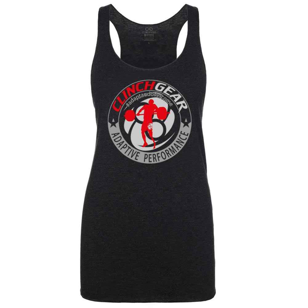 ADAPTIVE PERFORMANCE - CAF - Racerback Tank - Vintage Black - Clinch Gear