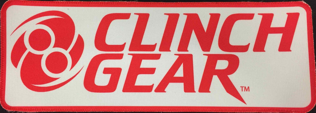 Gi Patch - Rectangle - RED - Clinch Gear