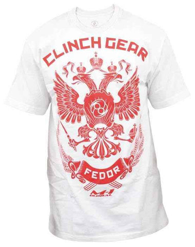 Fedor Strikeforce Walkout Tee - White - Clinch Gear