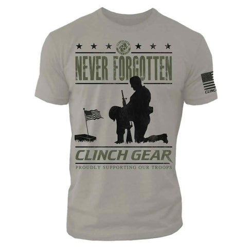 PATRIOT - Crew Tee - Stone - Clinch Gear