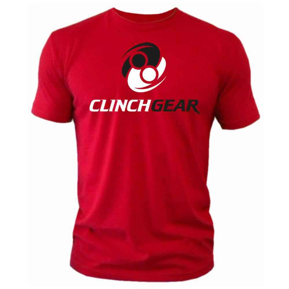 Clash Tee - Red - Clinch Gear