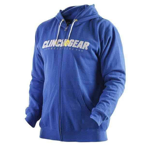 Block Type Hoody- Royal - Clinch Gear