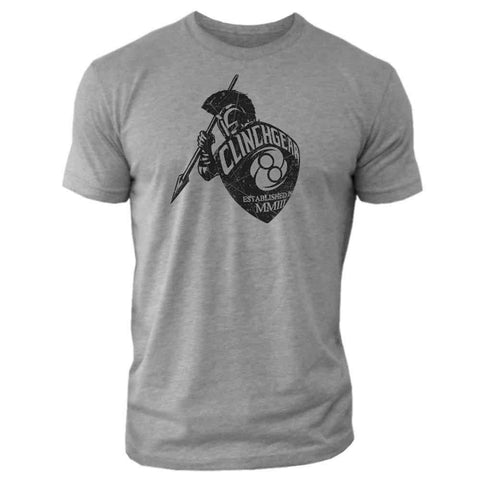 Guardian Tee - Heather Gray - Clinch Gear
