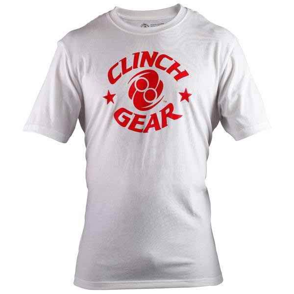 Icon Tee - White/Red - Clinch Gear