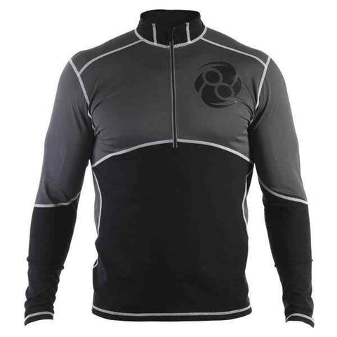 Zone Recovery Top- Long Sleeve- Black - Clinch Gear