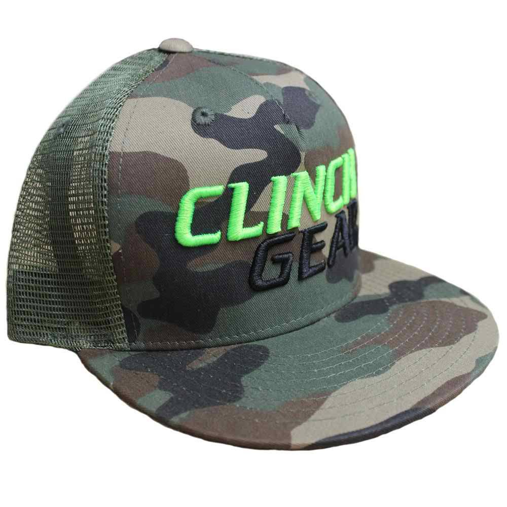 94a2298b4abd0 CG Stacked – Snapback Hat – Woodlawn Camo – Lime Green Black ...