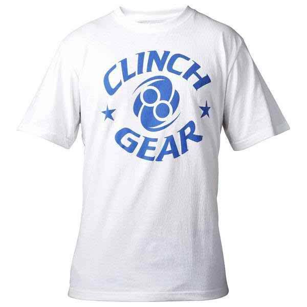Icon Tee - White/Blue - Clinch Gear