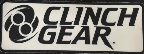 Gi Patch - Rectangle - BLACK - Clinch Gear