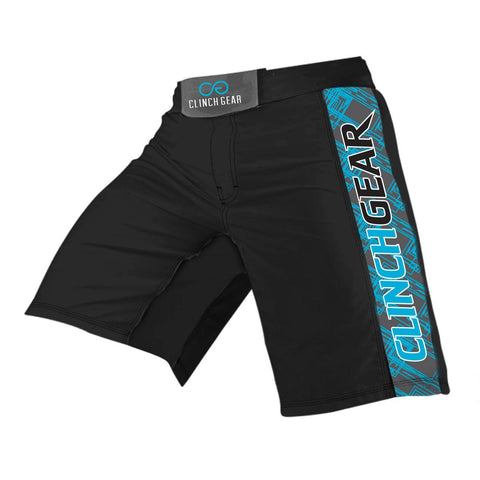 Pro Series Short - Black - Cyan/Gray - Clinch Gear